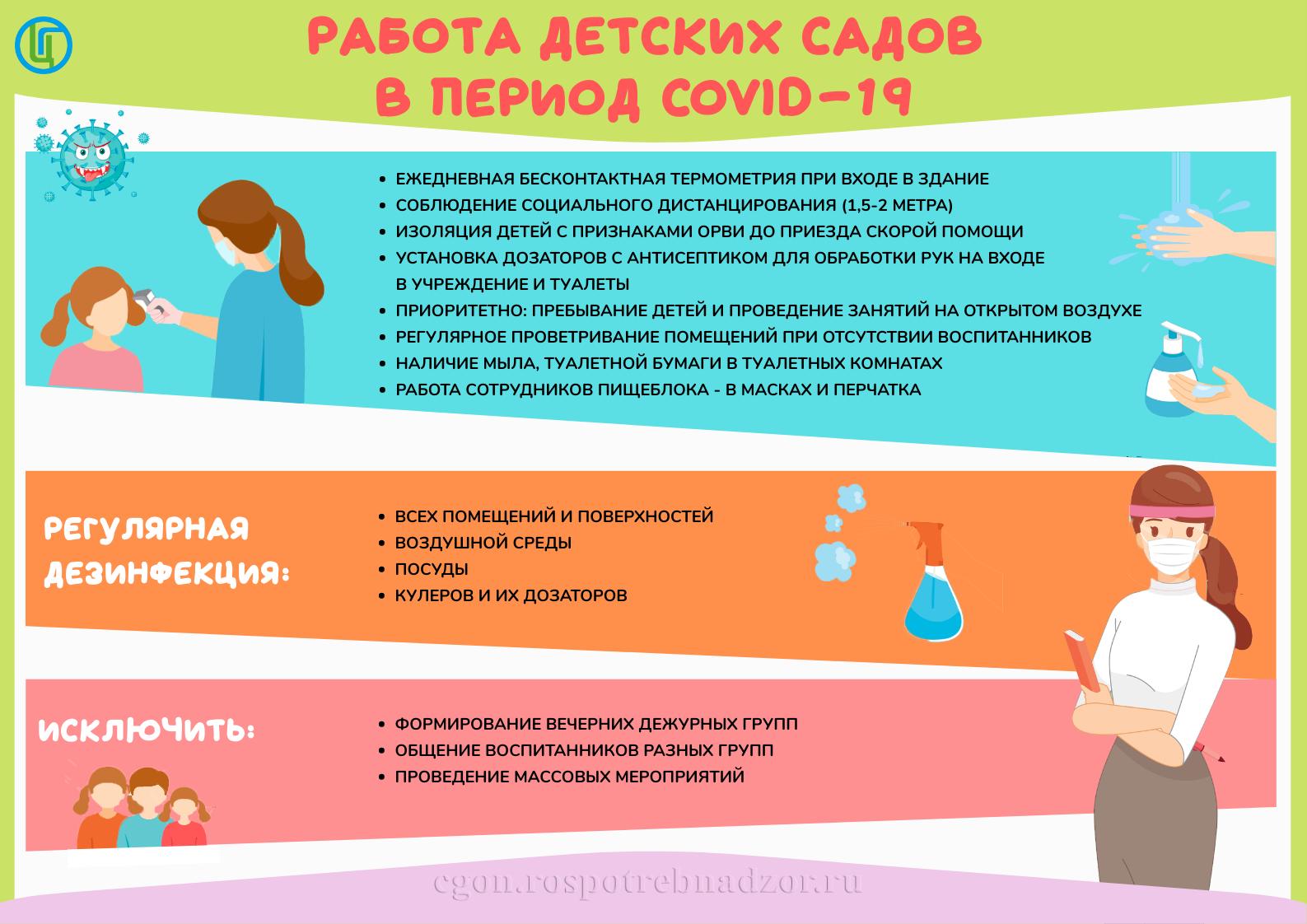 Регламент работы МКДОУ Тарутинский детский сад
